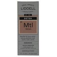 Liddell Laboratories - Mtl Detox Metals Homeopathic Oral Spray - 1 oz.