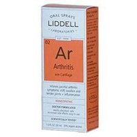 Liddell Laboratories - Ar Arthritis with Cartilage Homeopathic Oral Spray - 1 oz.