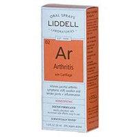 Liddell Laboratories - Ar Arthritis with Cartilage Homeopathic Oral Spray - 1 oz.