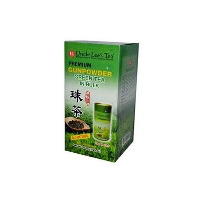 Uncle Lees Tea 0661454 Premium Gunpowder Green Tea in Bulk - 5.29 oz