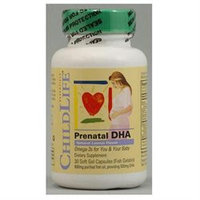 Child Life Essentials 1000660 PreNatal DHA - 30 Softgels