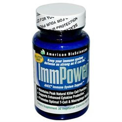 American BioSciences ImmPower AHCC - 500 mg - 30 Capsules