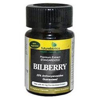 Futurebiotics Bilberry - 140 mg - 60 Vegetarian Capsules