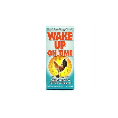 Rise-N-Shine Wake Up On Time - 40 Tablets
