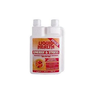 Liquid Health Products 0421578 Energy and Stress Tangerine Orange - 32 fl oz
