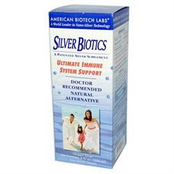 American Biotech Labs Silver Biotics Ultimate Immune System Support 8 fl oz