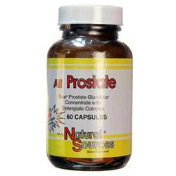 All Prostate, 60 Capsules, Natural Sources