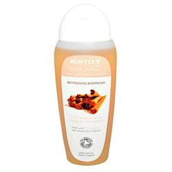 Bentley Organic - Bodywash Revitalising With Cinnamon Sweet Orange & Clove Bud Oils - 8.8 oz.