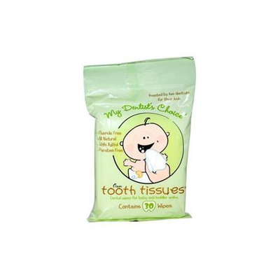 Tooth Tissues 0868380 My Dentists Choice Dental Wipes - 30 Wipes