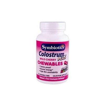 Symbiotics - Colostrum Plus Chewables Cherry - 120 Chewable Tablets