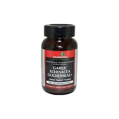 Futurebiotics Garlic Echinacea Goldenseal+ Vegetarian Tablets 120 ea