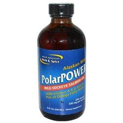 North American Herb & Spice PolarPower Wild Sockeye Salmon Oil - 8 fl oz