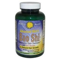 Biomed Health Inc 0353326 Advanced Bao Shi Mens Hair Supplement - 120 Tablets