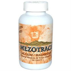 Mezotrace 0991661 Calcium and Magnesium - 180 Tablets