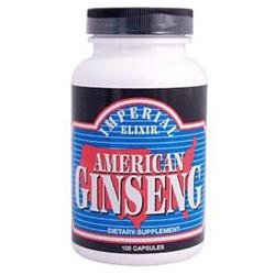 Imperial Elixir - American Ginseng 1000 mg. - 100 Capsules