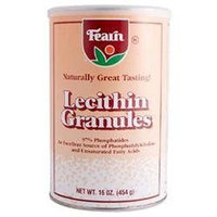 Fearn Nat Foods Lecithin GRANULES, 16 OZ by Fearn Natural Foods