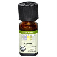 Frontier Natural Products Co-op 190817 Cypress, Essential Oil, ORGANIC, .25 oz. bottle