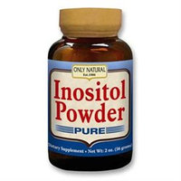 Only Natural - Pure Inositol Powder - 2 oz.