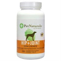 Pet Naturals of Vermont 0700523.120 Hip & Joint Extra Strength 120 Tabs