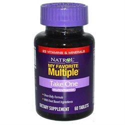 Natrol My Favorite Multiple Take One - 60 Tablets