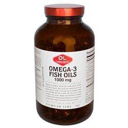 Olympian Labs Omega-3 Fish Oils 1000mg, 240 softgels