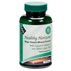 Diamond-Herpanacine Healthy Horizons, Mega Vitamin-Mineral Formula 90 tablets
