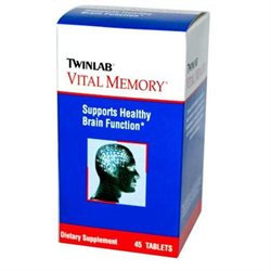 TwinLab Vital Memory - 45 Tablets - Other Supplements