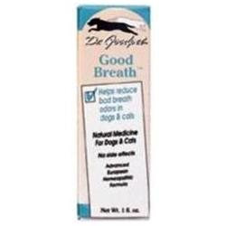Frontier Dr. Goodpet Homeopathic Good Breath Remedy for Cats and Dogs
