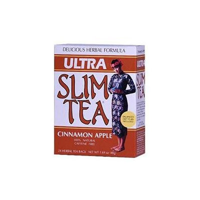 Hobe Laboratories 0208280 Ultra Slim Tea Cinnamon Apple - 24 Tea Bags
