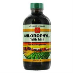 Bernard Jensen Products Chlorophyll With Mint - 8 Fluid Ounces Liquid - Other Green / Super Foods