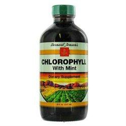 Bernard Jensen Products Chlorophyll With Mint - 8 Fluid Ounces Liquid - Other Green / Super Foods