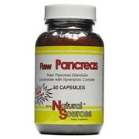 Raw Pancreas by Natural Sources - 50 Capsules