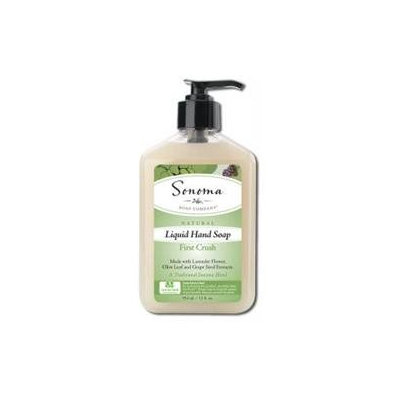 Sonoma Soap Company Liquid Hand Soap First Crush - 12 fl oz - Vegan