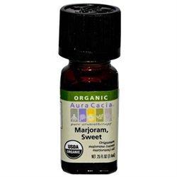Aura Cacia Certified Organic Essential Oil - Marjoram, Sweet