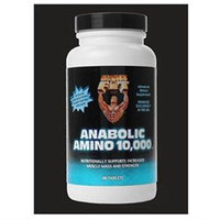 Healthy N Fit Nutritionals Anabolic Amino 10,000 - 90 Tablets - Amino Acid Complex