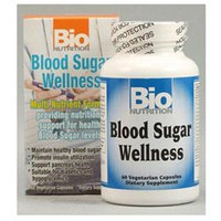 Bio-nutrition Blood Sugar Wellness, 60 Vegetarian Capsules, Bio Nutrition Inc.