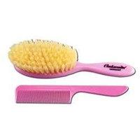 Ambassador Hairbrushes, Baby Brush & Comb Pink 5129 1 Hairbrush