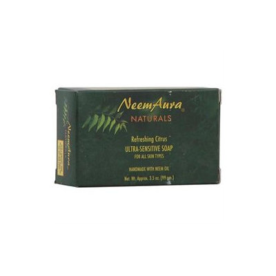 NeemAura Naturals, Ultra-Sensitive Soap Refreshing Citrus 3.5 oz