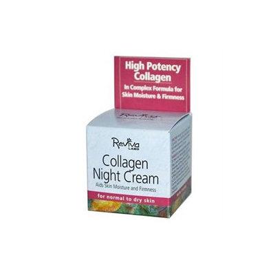 Reviva Labs Collagen Night Cream, 1.5 oz