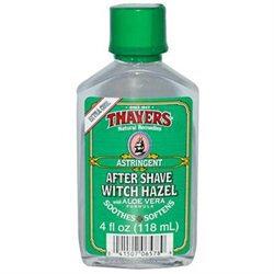 Thayers Witch Hazel Company Extra-Strength Witch Hazel After Shave with Aloe Vera 4 fl oz