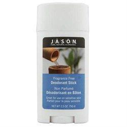 Jason Natural Products - Deodorant Stick Fragrance Free - 2.5 oz.