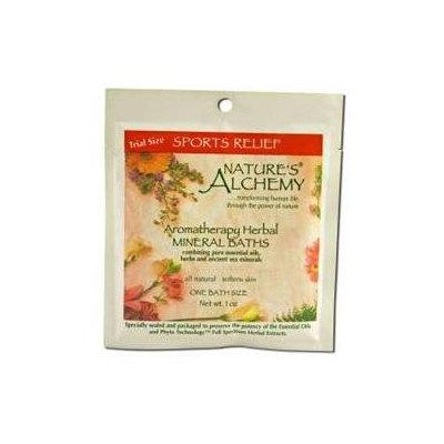tures Alchemy Aromatherapy Herbal Mineral Baths, Sports Relief, 1 oz, Nature's Alchemy