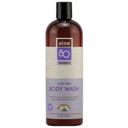 Frontier Natural Products Co-op 220463 Lily of the Desert Aloe 80 Organic Bath Care - Body Wash, Aloe Vera 16 fl. oz.