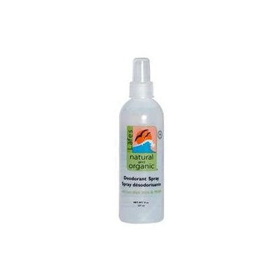 Lafes Natural Body Care Deod Spray W/Msm 8 Oz by Lafe's Natural Body Care (1 Each)