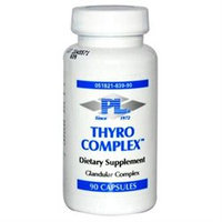 Progressive Laboratories, Inc 0522672 Progressive Laboratories Thyro Complex - 90 Capsules