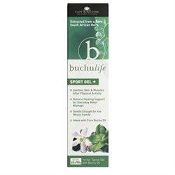 Buchulife Sport Gel 100% Buchu Oil 3.5 oz