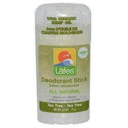 Lafe's Natural Bodycare Twist-Stick Deodorant Tea Tree - 2.5 Ounces Stick(S) - Body Mists