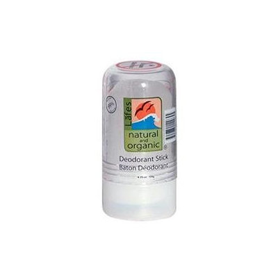 Lafes Natural Body Care 0420554 Natural Crystal Deodorant Stick - 4.25 oz