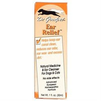 Frontier Dr. Goodpet Homeopathic Ear Relief for Dogs and Cats
