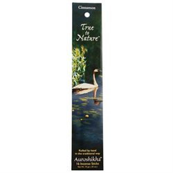 True To Nature Incense Cinnamon, 10 g, Auroshikha Candles & Incense